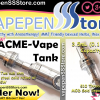 ACME Vape Flyer
